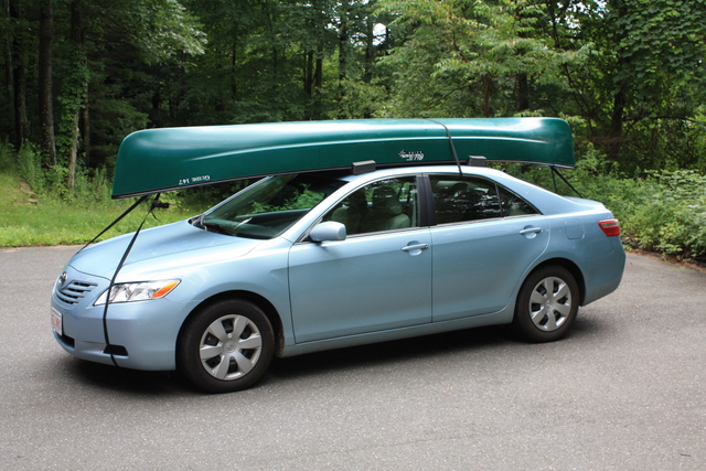 Canoe Fits on Car